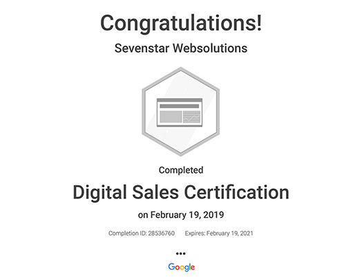 Digital Certification