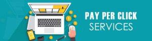 Pay per click services provider