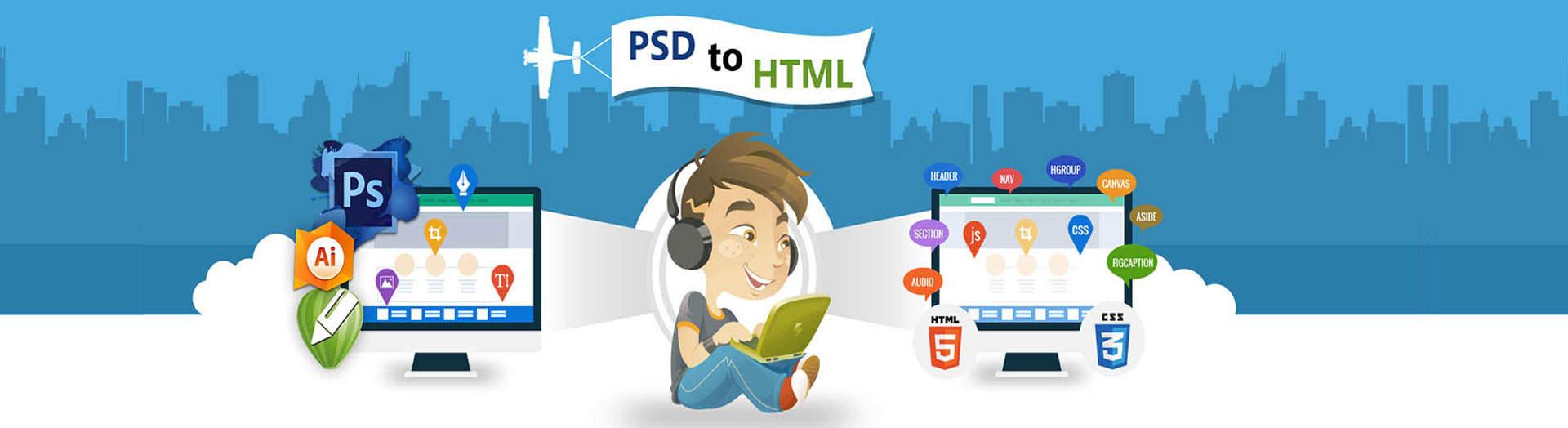 PSD to HTML Development