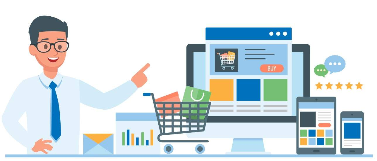 Ecommerce getting business with Ads